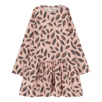 Poppy Rose Moira Leaf Dress-listing