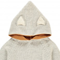 Oeuf NYC Exclusivité Œuf x Smallable Hoodie Alpaga Ours-listing