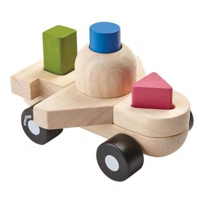 Plan Toys Steck-Puzzle Formen Flugzeug-listing