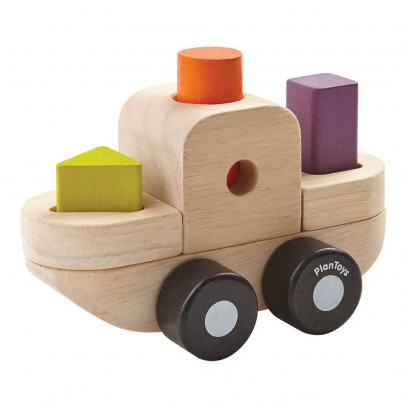 Plan Toys Puzzle formas barco-listing