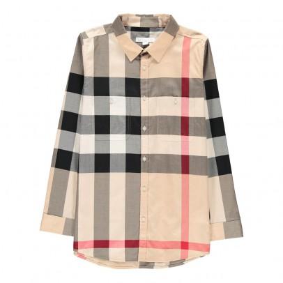 Burberry Camisa Cuadros Mini Camber-listing