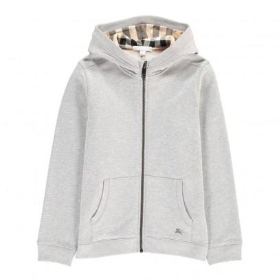 Burberry Zip-Up Pearcy Hooded Sweatshirt-listing