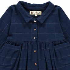 Noro Clothilde Checked Dress with Buttons-listing