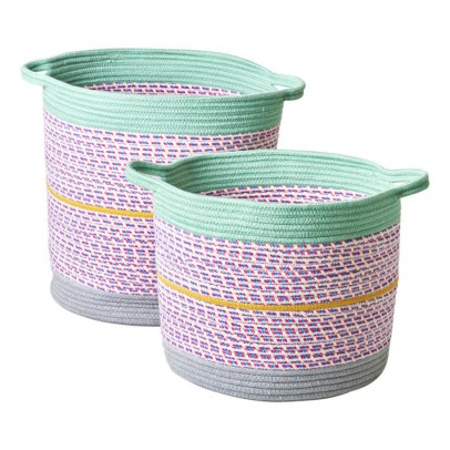 Rice Cestas de almacenamiento - Lote de 2-product