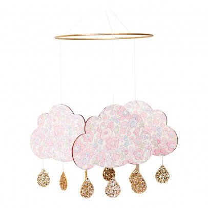 Little Cloud Mobile nuage Betsy rose-listing