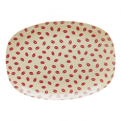 Rice Kiss Rectangular Plate-listing