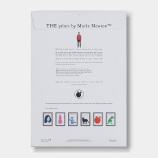 THE prints by Marke Newton Woof Woof Poster 29.7x42cm-listing