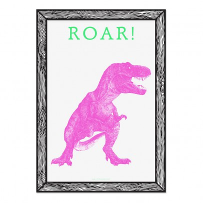 THE prints by Marke Newton Póster Roar 29,7x42 cm-listing