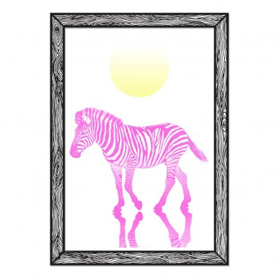 THE prints by Marke Newton Zebra Poster 29.7x42cm-listing