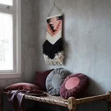 Madam Stoltz Tapiz de lana-listing