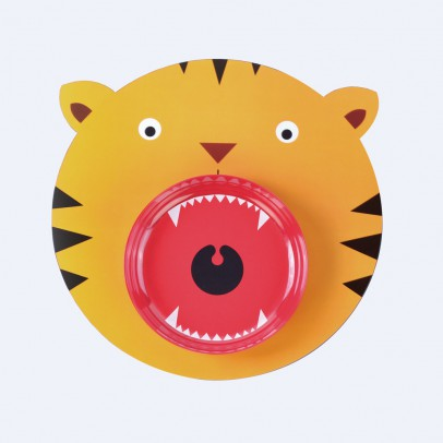 DOIY Mantel y plato tigre-listing