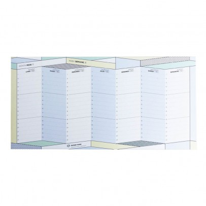 Papier Tigre Le Parcours Weekly Planner-listing