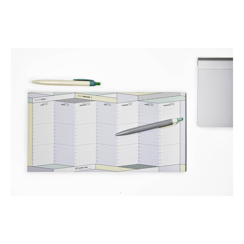 Papier Tigre Le Parcours Weekly Planner-product