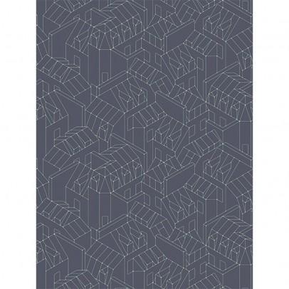 Papier Tigre Rooftops of Paris Wallpaper 1 - 10m-listing