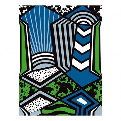 Papier Tigre Patchwork Wallpaper - 3m-listing
