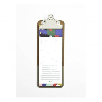 Papier Tigre Bloc lista y clipboard Corteza-listing
