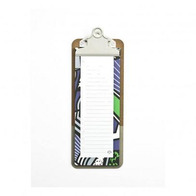 Papier Tigre Bloc lista y clipboard Patchwork-listing