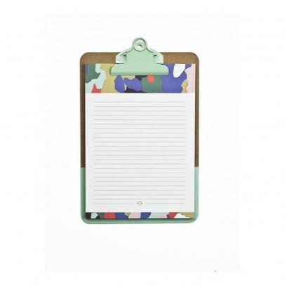 Papier Tigre Bloc de notas y clipboard Corteza-listing