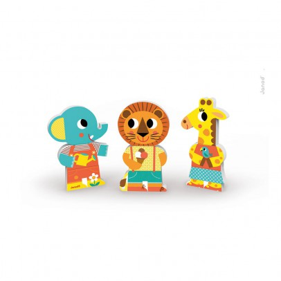 Janod Funny Zoo Animal Magnets-product