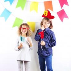 DOIY Accessoires Photobooth enfant - Set de 20-listing