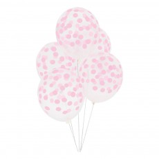 My Little Day Ballons imprimés confettis - Lot de 5-listing