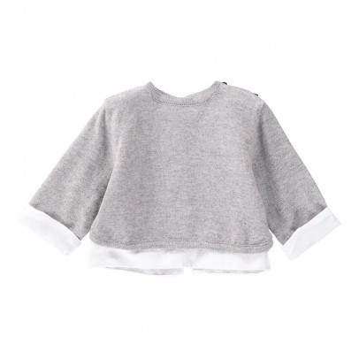 Pequeno Tocon Pull Détails Chemise-listing