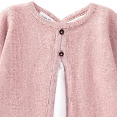 Pequeno Tocon Cardigan with Blouse Detail-listing