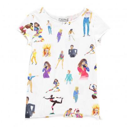 G.KERO T-shirt Stars The 80'S-listing