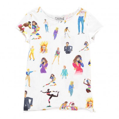 G.KERO The 80's Stars T-shirt-listing