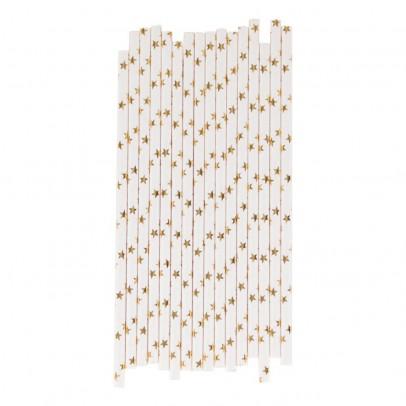 My Little Day Pailles en papier étoiles métalisées - Lot de 25-listing