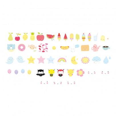 A little lovely company Set de 48 ilustraciones kawaï para lightbox-listing