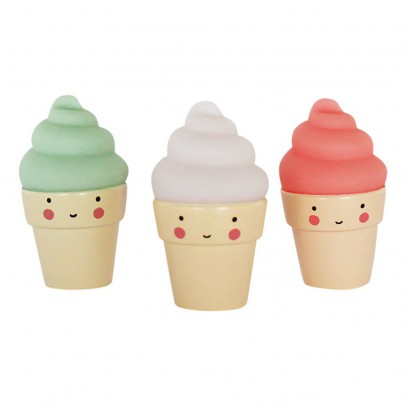 A little lovely company 3 Mini Ice Cream -listing
