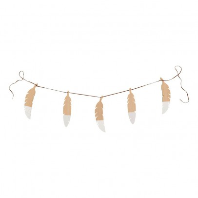 Nobodinoz Feather Garland-product