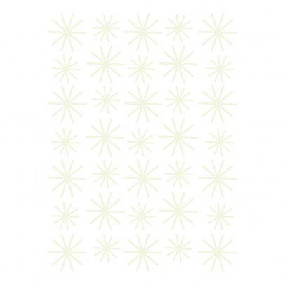 Lilipinso Phosphorescent Snow Flake Stickers-listing