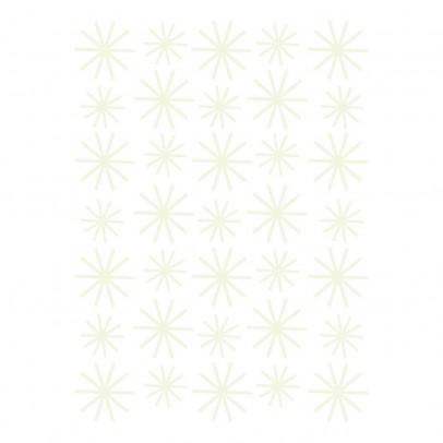 Lilipinso Stickers - Planche de flocons phosphorescent-listing