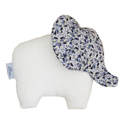 Blossom Paris Blue Pollen Liberty Elephant Soft Toy-listing