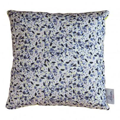 Blossom Paris Coussin carré Liberty Blue pollen 28x28 cm-listing