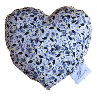 Blossom Paris Blue Pollen Liberty Heart Rattle-listing