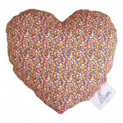Blossom Paris Pepper Pink Liberty Heart Rattle-listing