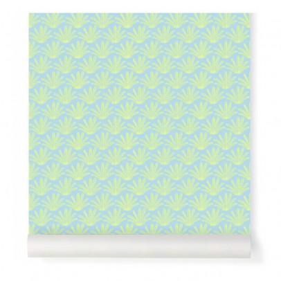Little Cabari Blue Maracas Wallpaper-listing