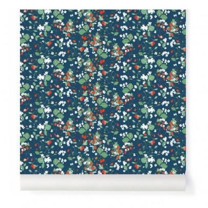 Little Cabari Papier peint Strawberry fields forever Nuit-listing