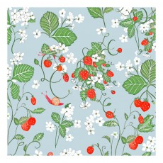 Little Cabari Papier peint Strawberry fields forever Ciel-product