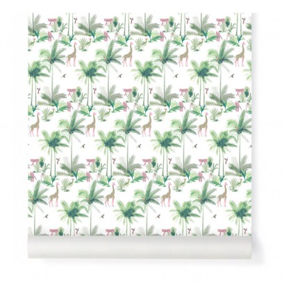 Little Cabari Pink Tamtam Wallpaper-listing