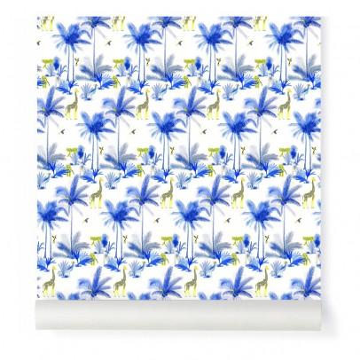 Little Cabari Blue Tamtam Wallpaper-listing