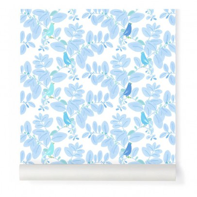 Little Cabari Papier peint Songe Bleu-product