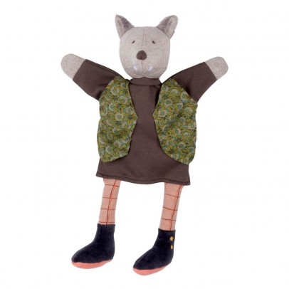Moulin Roty Gentleman Wolf Puppet-listing