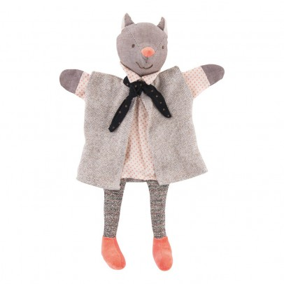 Moulin Roty Gallant Cat Puppet-listing