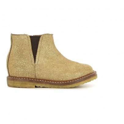 Pom d'Api Boots Suède Irisé Suzet-listing