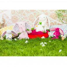 Jellycat Peluche lapin Blossom crème et liberty-listing