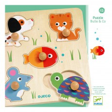 Djeco Puzzles gros boutons Bulle & co-listing